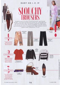 JOE FRESH FLARE  SEPTEMBER 2013
