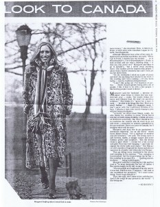 MARGARET GODFREY WWD 21. 03. 1972