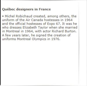 MICHEL ROBICHAUD CBC MAY 19, 1966