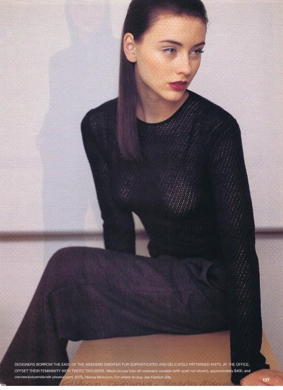 MARISA MINICUCCI FLARE OCTOBER 1998