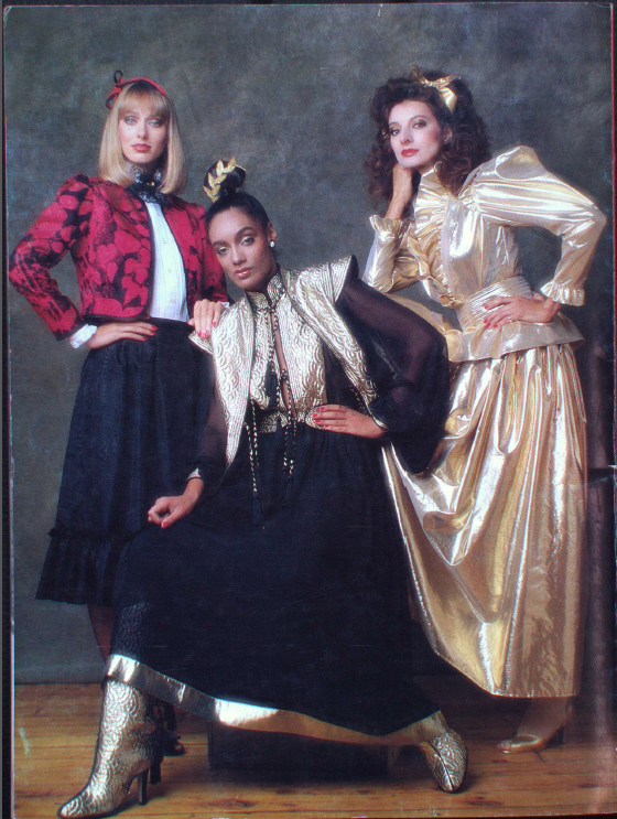 PAT MCDONAGH CANADA FASHION MODE 1982