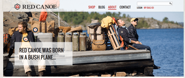 RED CANOE WEBSITE