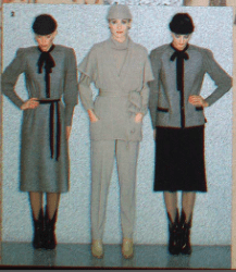 MICHEL ROBICHAUD CANADA FASHION MODE 1979