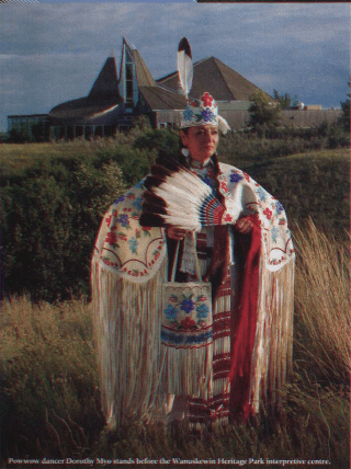 WANUSKEWIN FIRST NATIONS CULTURE CANADA'S HISTORY AUGUST SEPTEMBER 2014