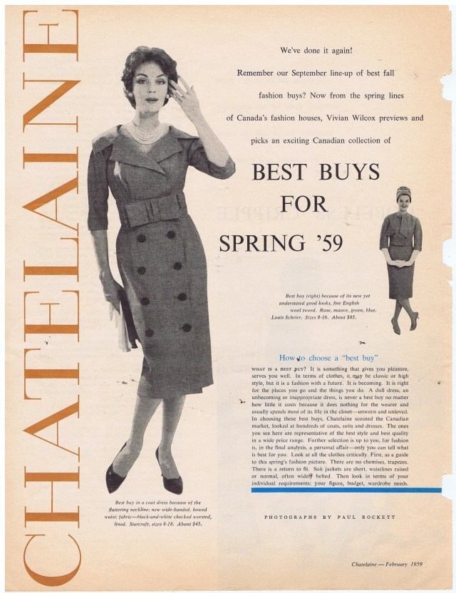 CHATELAINE FEBRUARY 1959 001