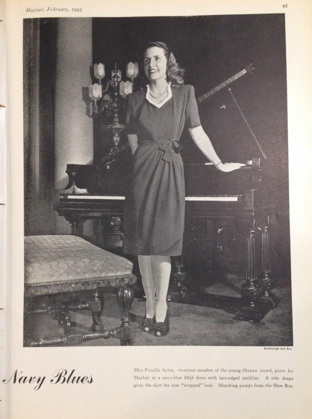deja ottawa feature mayfair february 1945