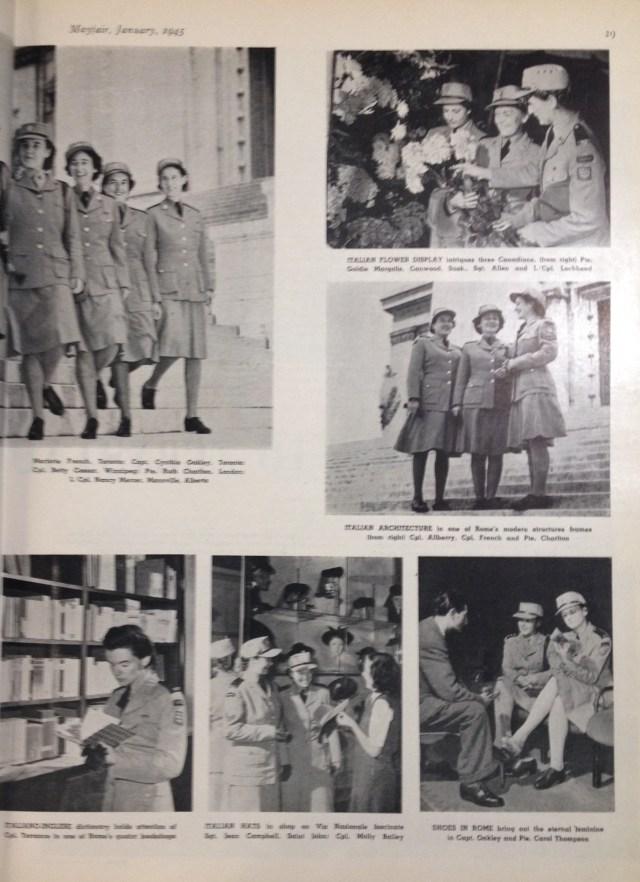 uniforms mayfair january 1945 2