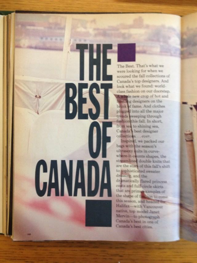 best of canada 2 flare september 1986