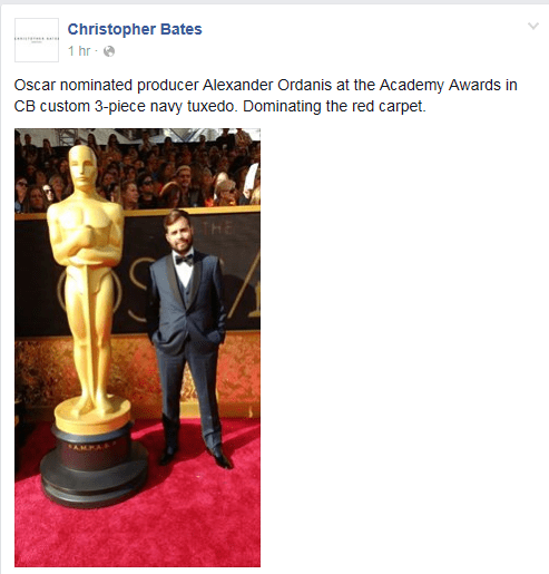 christopher bates oscars 2016