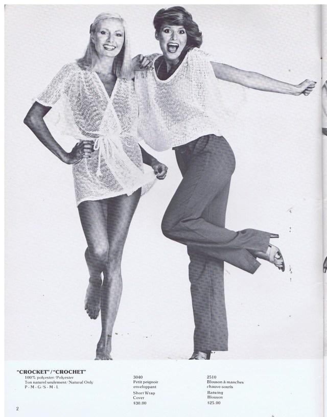 CARON INTERNATIONAL R-L CAROL LAWRENCE, MARIA HOYT 1979