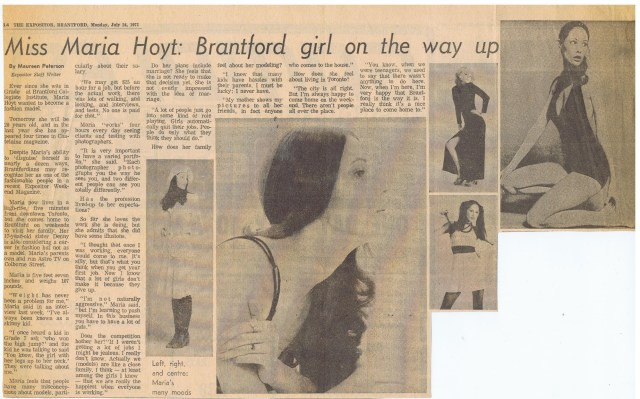 THE EXPOSITOR MARIA HOYT 1972
