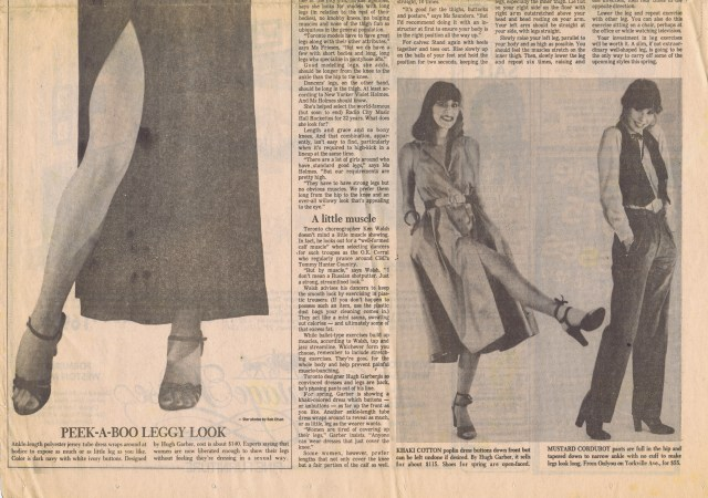 HUGH GARBER TORONTO STAR FEBRUARY 1972 2 OF 3 HGA