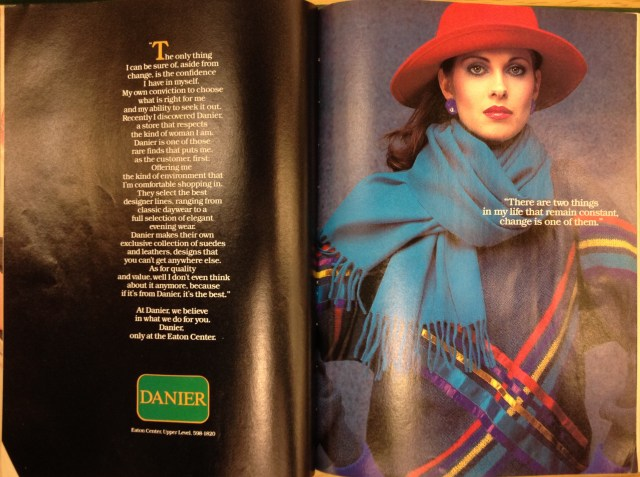 1983 FALL FASHION DANIER
