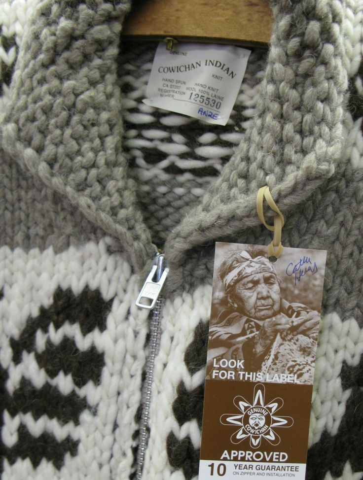 500b8753d6ef 8. The Cowichan Sweater
