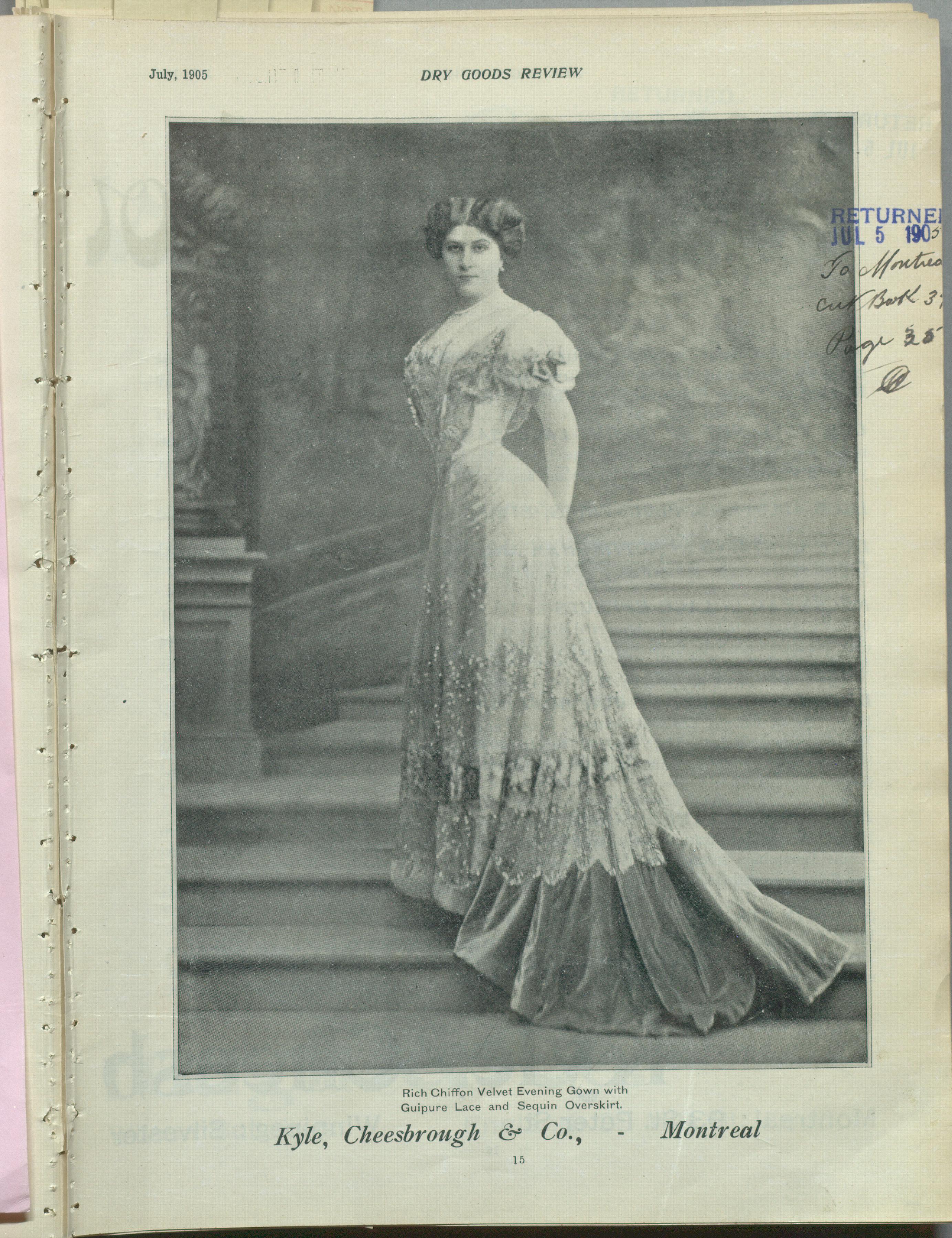 Canada Fashion Magazine: 36. 1905 Dry Goods Review