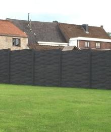 panneaux pvc pour le jardin styles