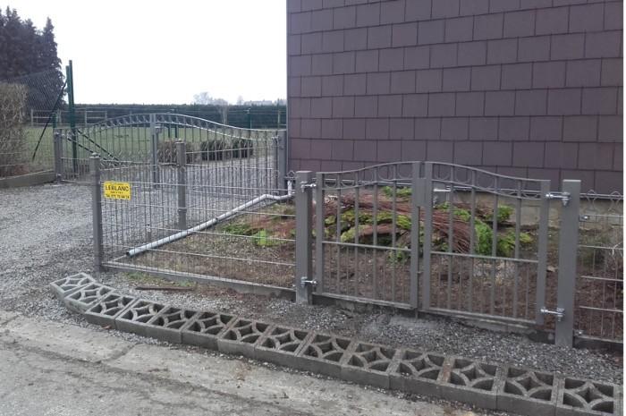 jardin en treillis rigides