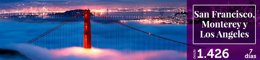 San Francisco Monterrey y los Angeles