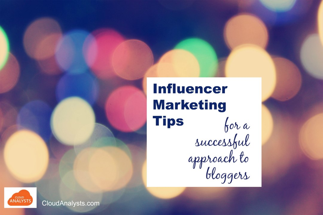 Outreach or Influencer Marketing tips by CloudAnalysts.com