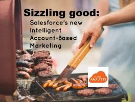 Salesforce launches #AI Einstein ABM – verrryy intelligent  –