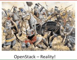 The OpenStack Battle - taken from Freedland Presentation