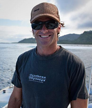 Gavin in Micronesia
