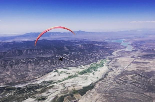 Cody Mittanck deep of the Utah desert. Photo Nick Greece