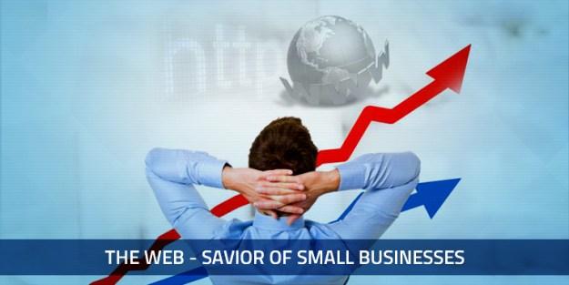 Web - Savior of Small Businesses