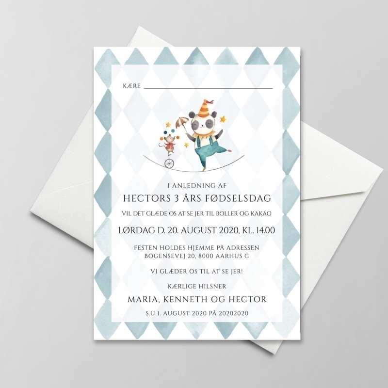 Linedanser invitation