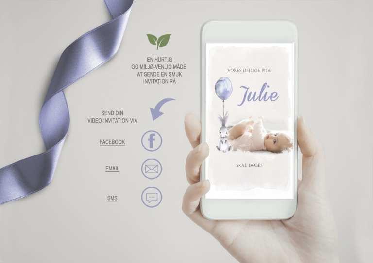videoinvitation bryllup