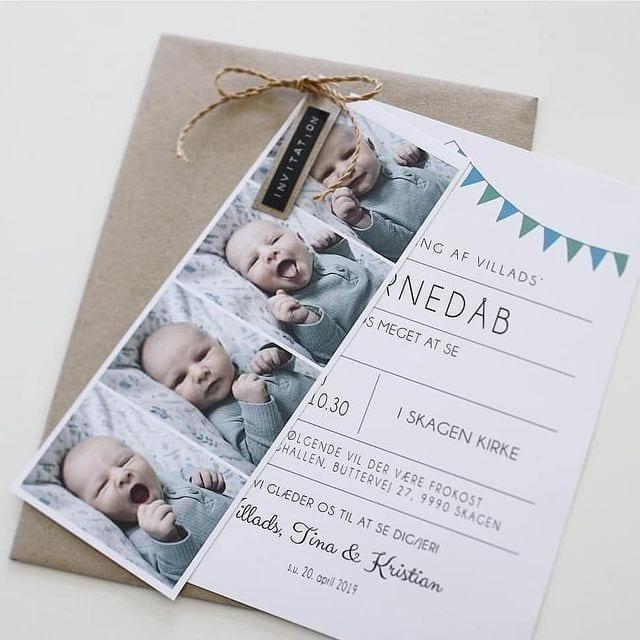 invitation til barnedåb