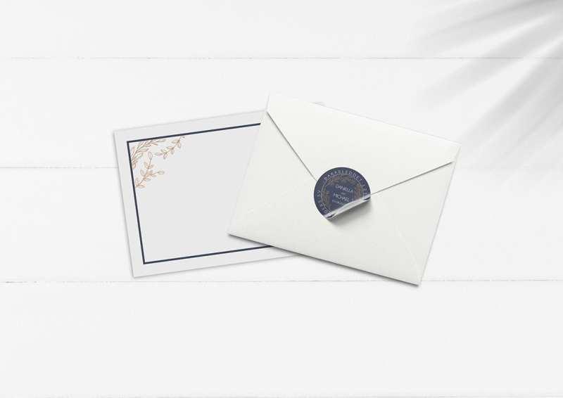 kuverter til invitation