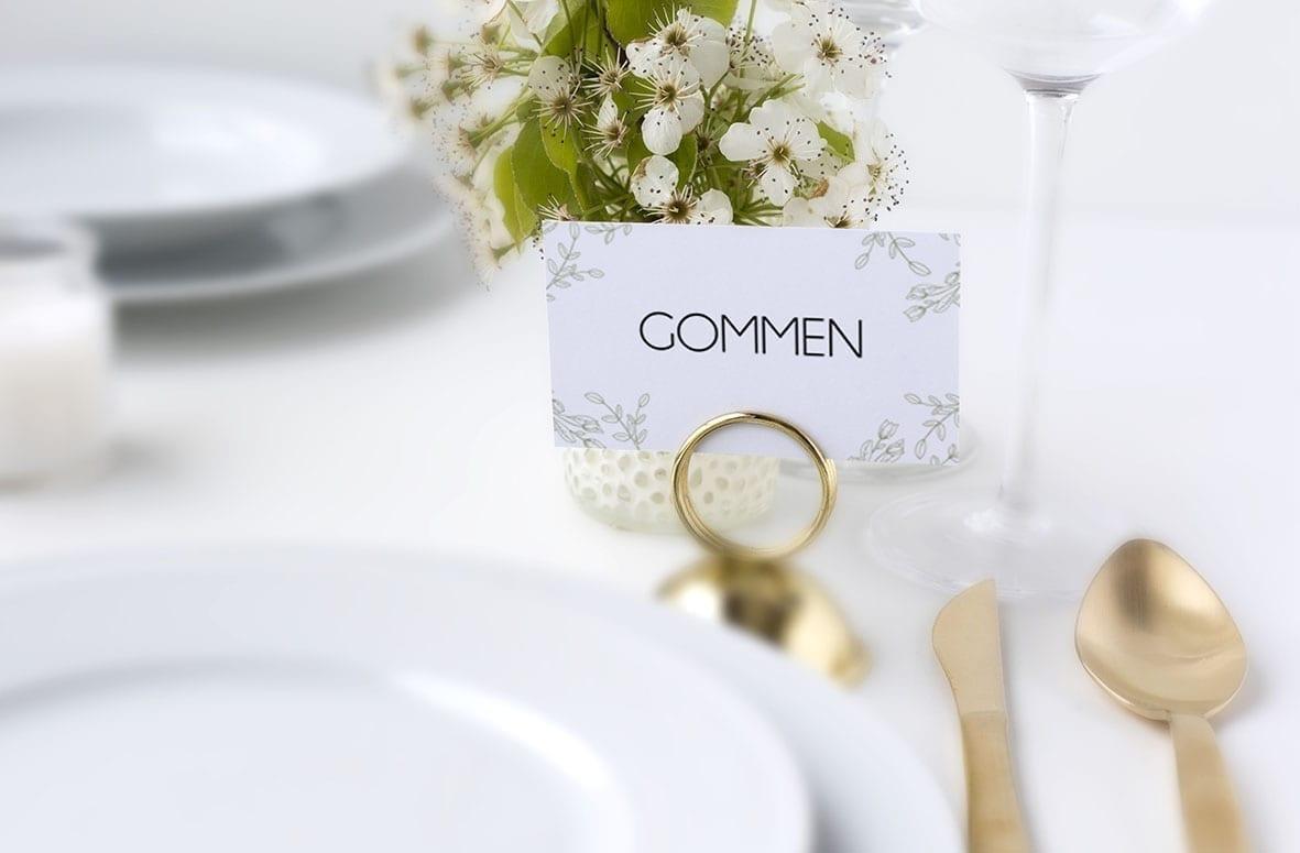 romantisk bryllup