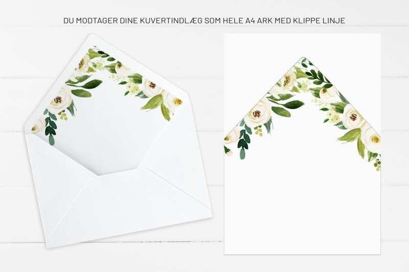 Go Traditioinal, kuvertindlæg, bryllup
