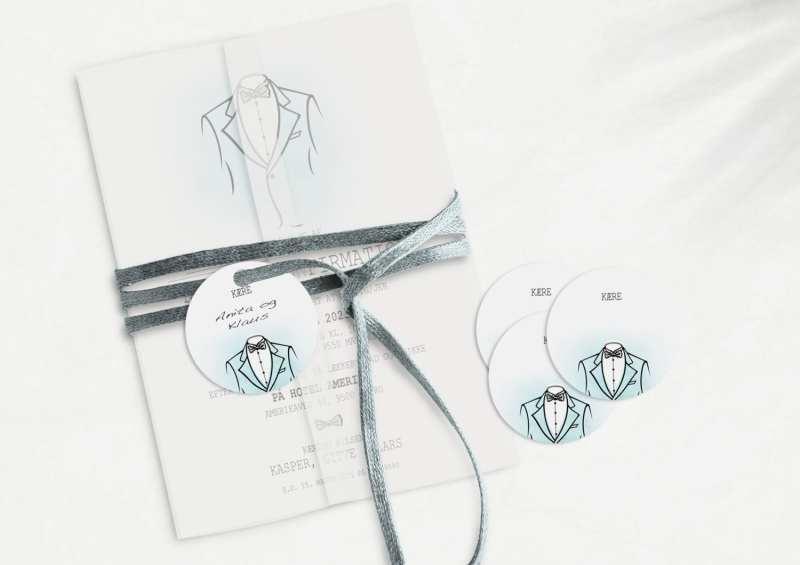 Suit, manillamærke, konfirmation