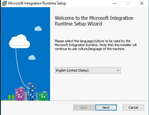 Figura 6 - Installazione VM self-hosted IR