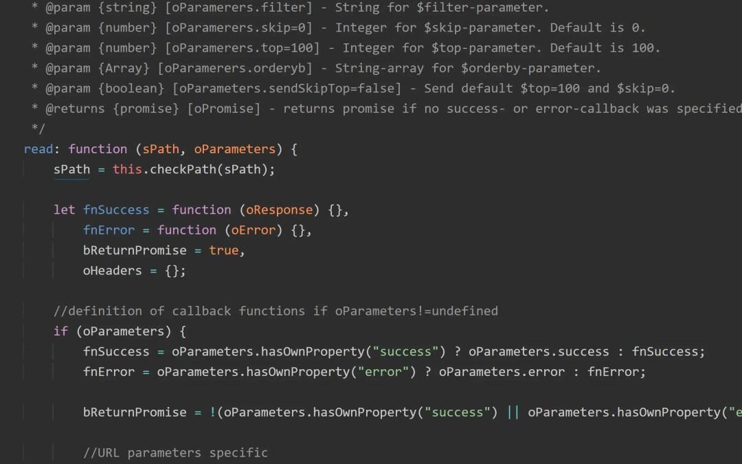 RestModel für SAP UI5