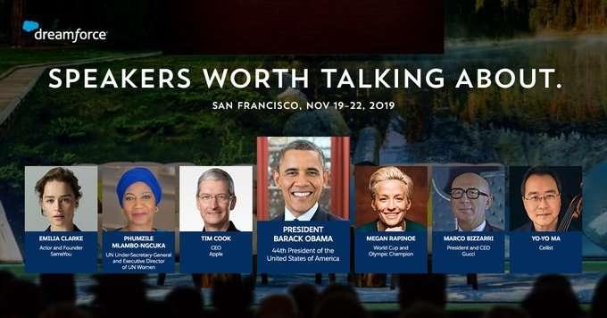 Dreamforce 2019 Speakers