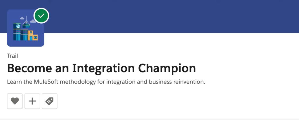 Integration Champion Trailblazer Trail Badge