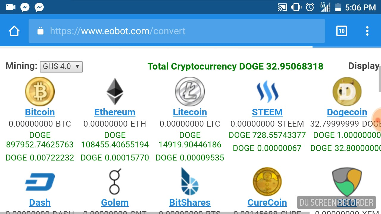 ghs mining cryptocurrency