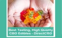 Best Tasting, HIgh Quality CBD Edibles - DirectCBD - Featured Image
