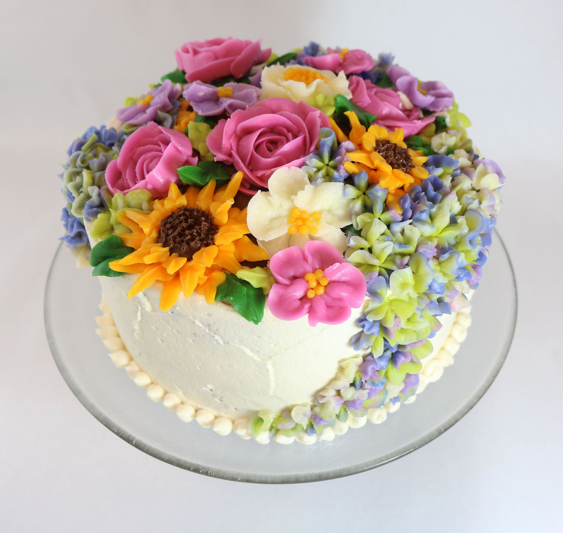 High Ratio Cake With Ermine Buttercream