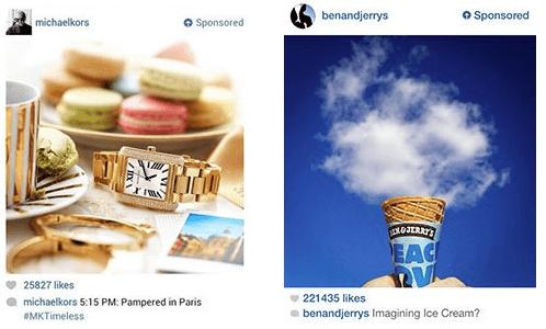 Post promozionali di Instagram
