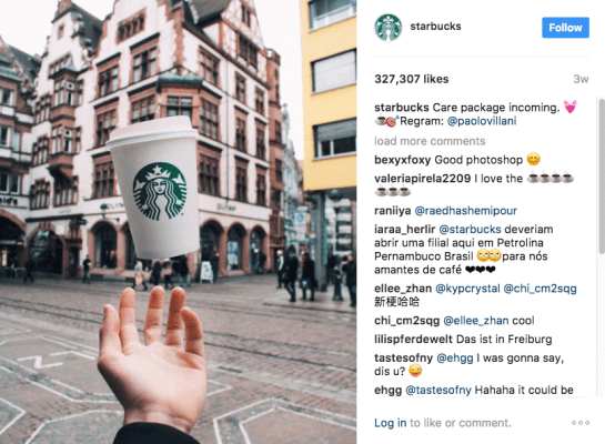 Pubblica contenuti generati dagli utenti - Suggerimenti e-commerce di Instagram