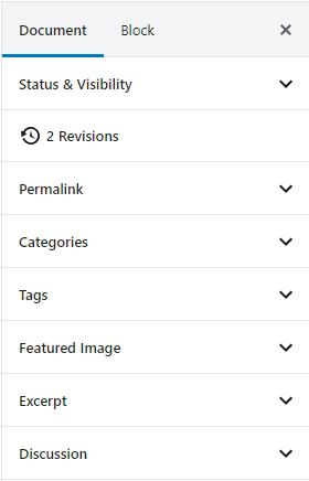 gutenberg document format
