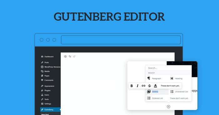 wordpress gutengberg
