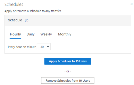 Homelaufwerke zu OneDrive for Business migrieren - Zeitplan