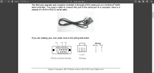 iEQ45 RS232 cable wiring diagram needed  Mounts  Cloudy