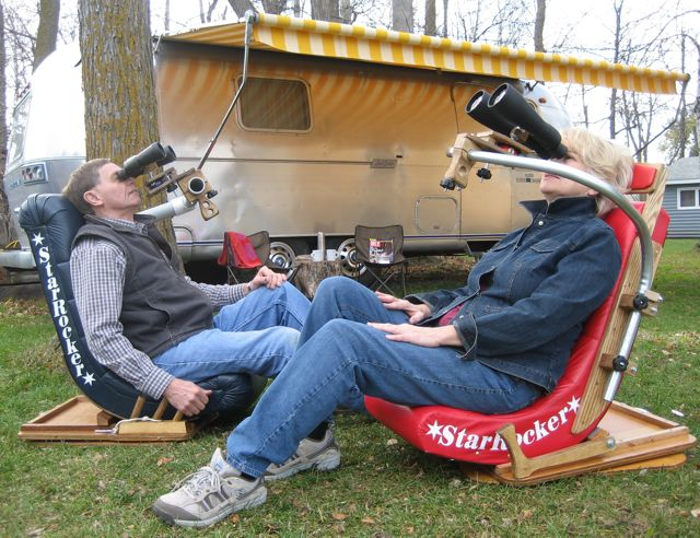 Bino Chair StarRocker Binoculars Cloudy Nights