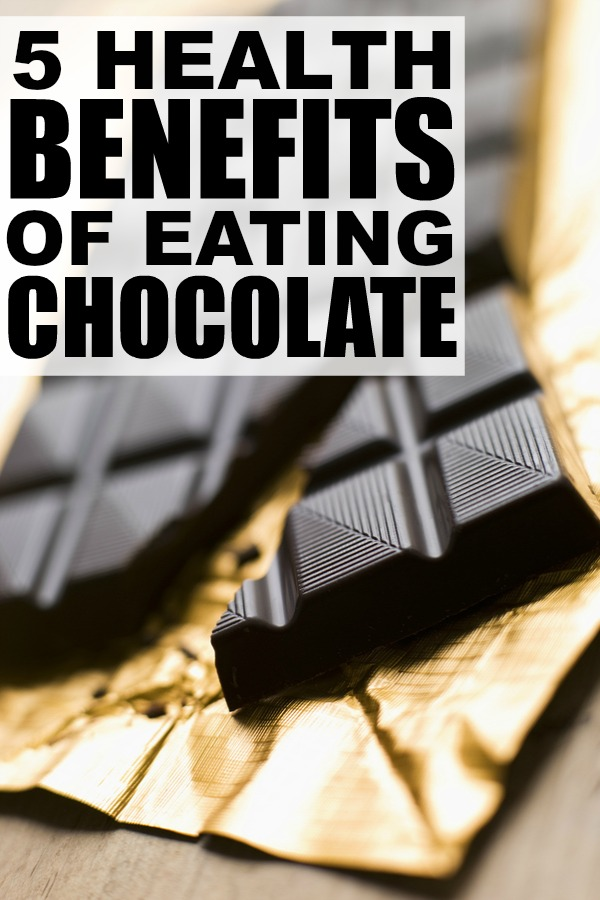 If you're trying to lose weight or reduce stress, a little chocolate may actually be GOOD for you. I know, right?! Check out these 5 awesome health benefits of eating chocolate. You can thank us later.